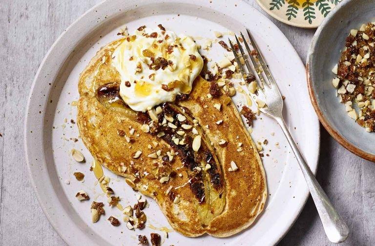 Пухкі млинці без борошна - ситний сніданок