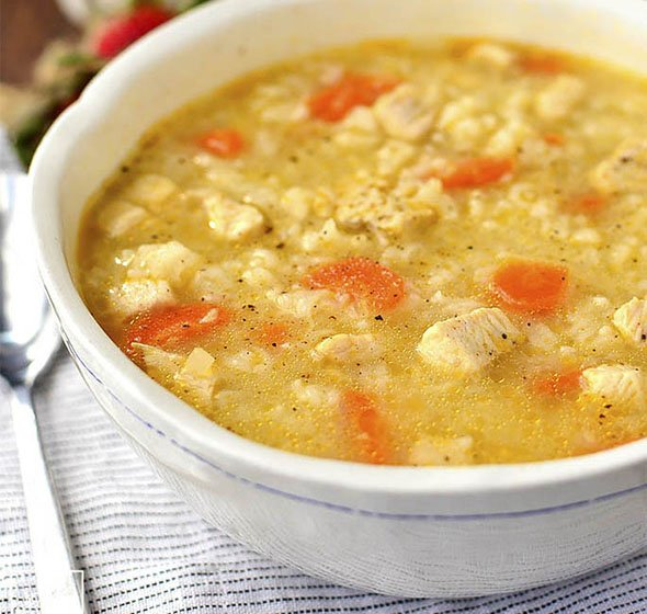 Як варити рисовий суп з куркою: повний рецепт